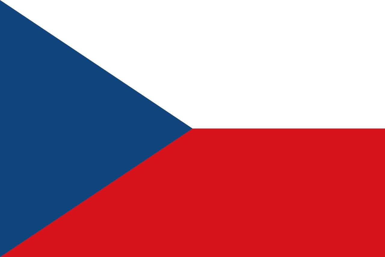 Flag Czechia, Czech Republic