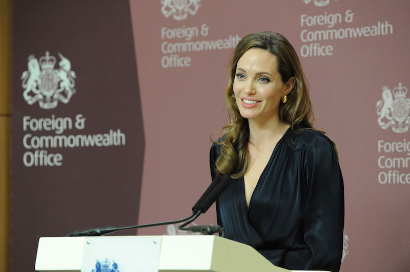 Angelina Jolie - Controversial Appointments by the LSE Centre for Women, Peace and Security