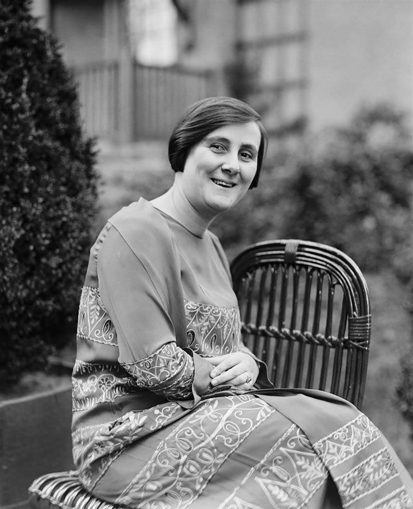 Berta Lutz in 1925, leading figure of the feminist movement in Brazil