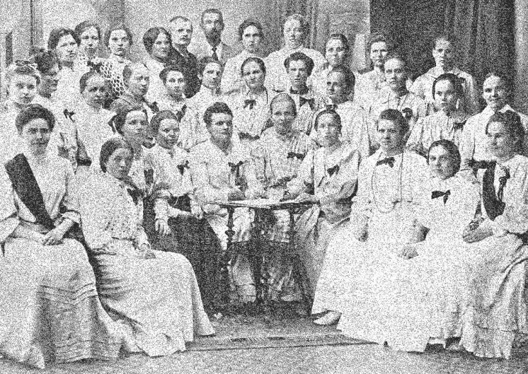 Women's Suffrage in Finland - Finnish seamstresses, 1906