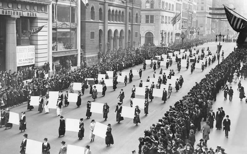 Suffragists, 1917