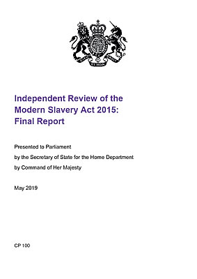 Independent Review of the Modern Slavery Act 2015: Final Report