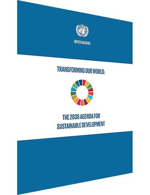 2030 Agenda for Sustainable Development - Sustainable Development Goals (SDGs)
