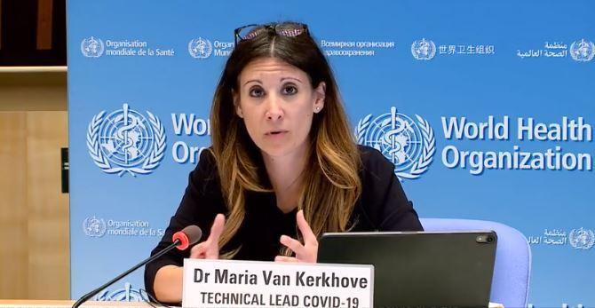 Maria Van Kerkhove, COVID-19 Technical Lead at WHO