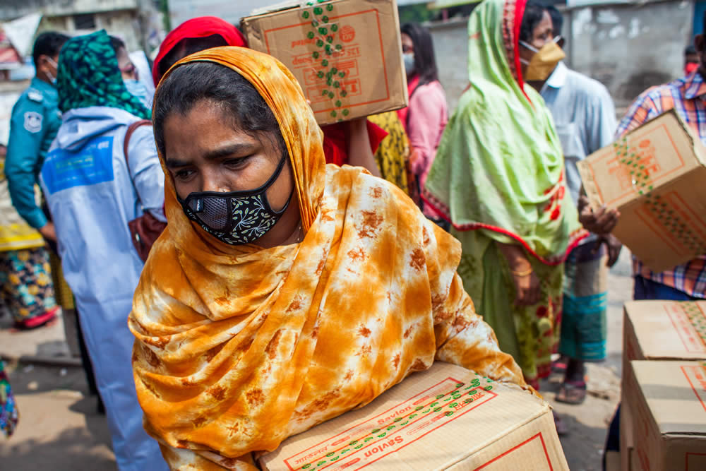 UNDP calls for temporary basic income to help world's poorest women cope with effects of COVID-19 pandemic